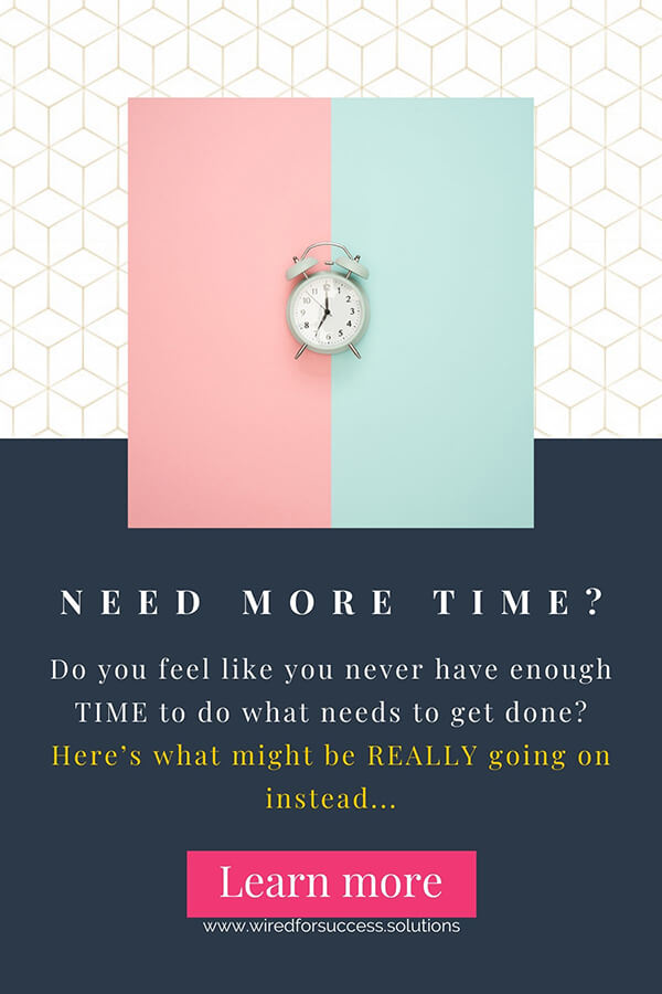 """data-pin-description=""""Are you feeling like you never have enough time to do all the things on your to-do list? Like you're always running behind and just can't keep up? Incredible as it may sound at first - time might not be your REAL problem here... Find out what might be going on instead at www.wiredforsuccess.solutions #success #lackoftime #entrepreneurship #selfdevelopment #wiredforsuccesssolutions #timemanagement #mindset"""""""