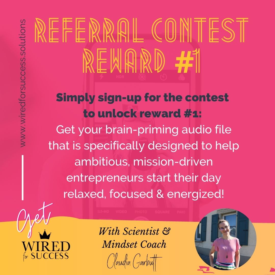 Wired For Success Podcast Contest 1
