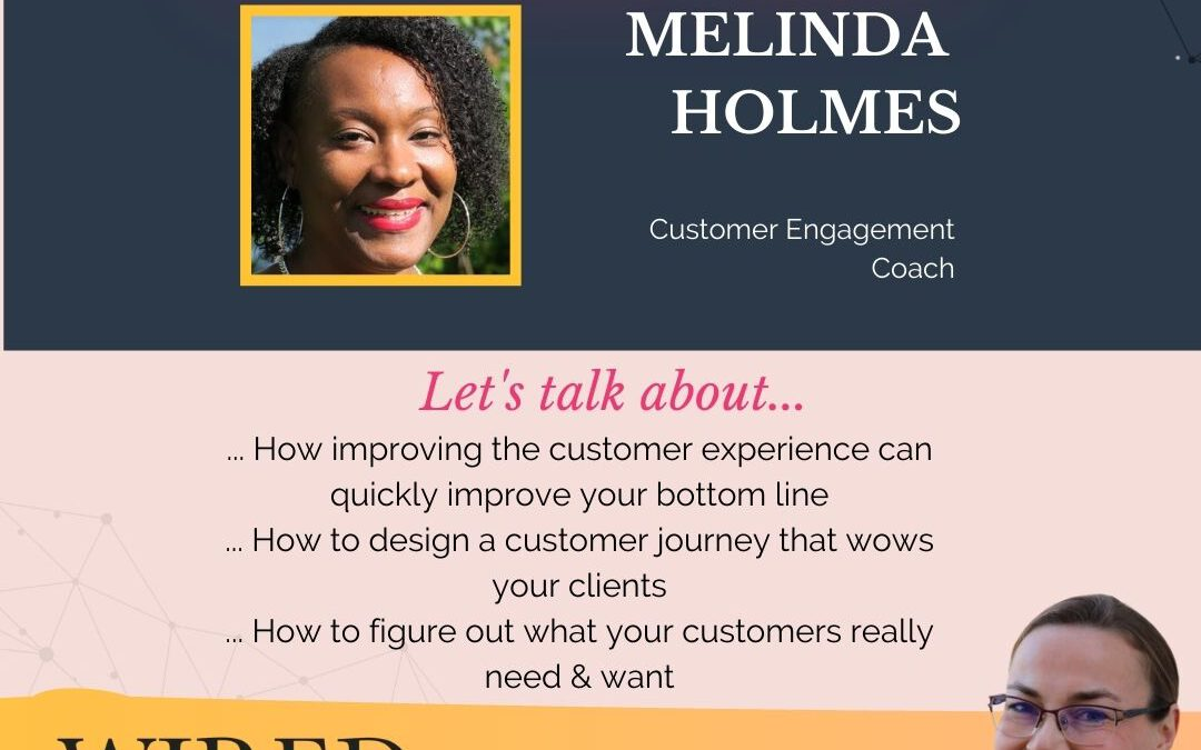 Wired For Success Podcast Episode #54: Improving the Customer Experience with Melinda Holmes