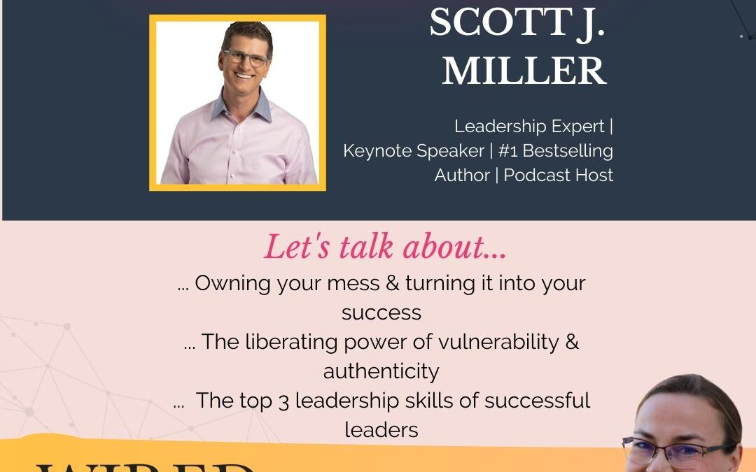 Wired For Success Podcast #55: On Leadership & Turning Your Mess Into Your Success With Scott J. Miller