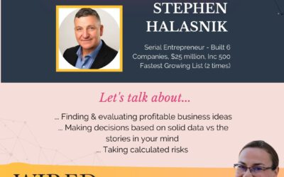 Wired For Success Podcast #56: Building Million-Dollar Companies with Stephen Halasnik